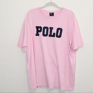 Polo by Ralph Lauren Pink Short Sleeve Tee XXL